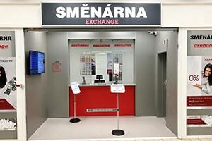 Nově otevřená pobočka směnárny v Kauflandu Znojmo.