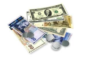 Valuty ve směnárnách