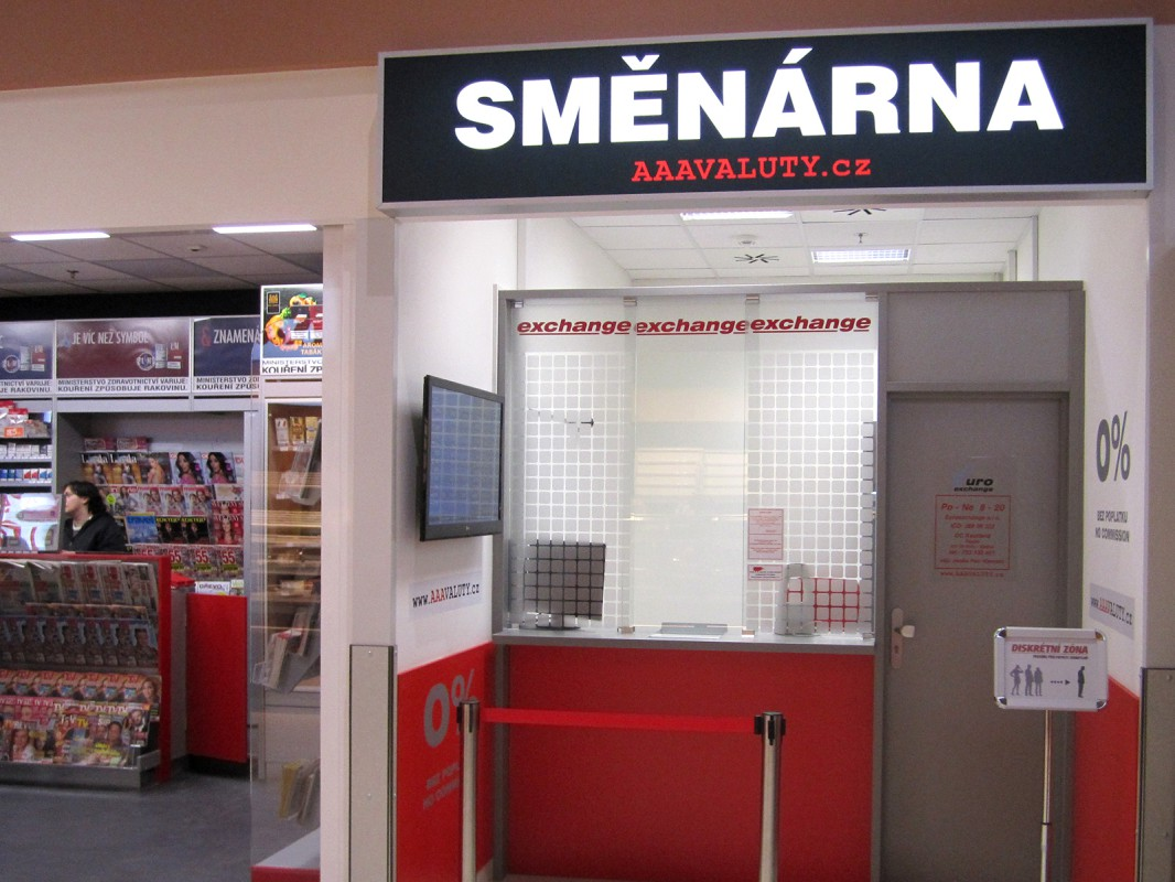 Směnárna Brno Slatina