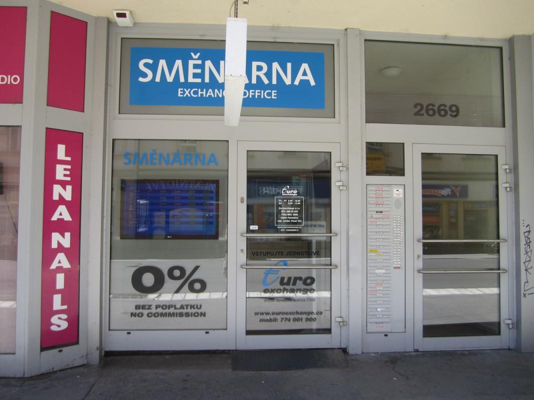 Směnárna Pardubice Třída Míru