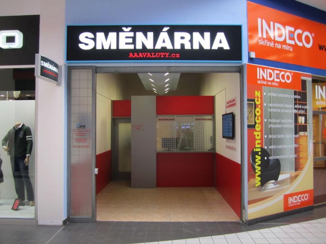 Směnárna Pardubice Hypermarket Albert