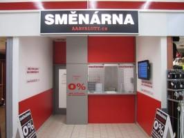 Směnárna Brno - Kaufland Židenice