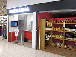 Směnárna Hradec Králové - OC Kaufland